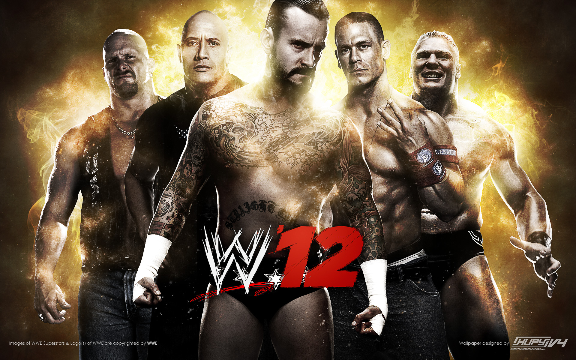 WWE 12 Wallpaper 1920x1200