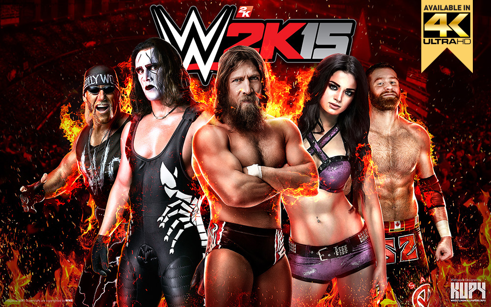 wwe 2k15 wallpaper