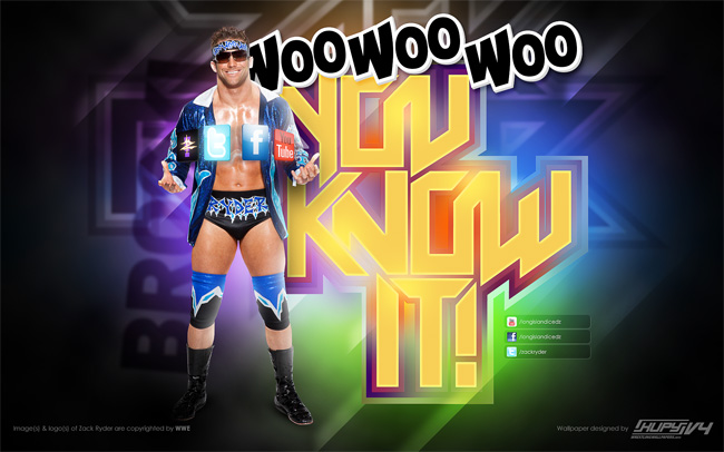 Zack Ryder Broski wallpaper