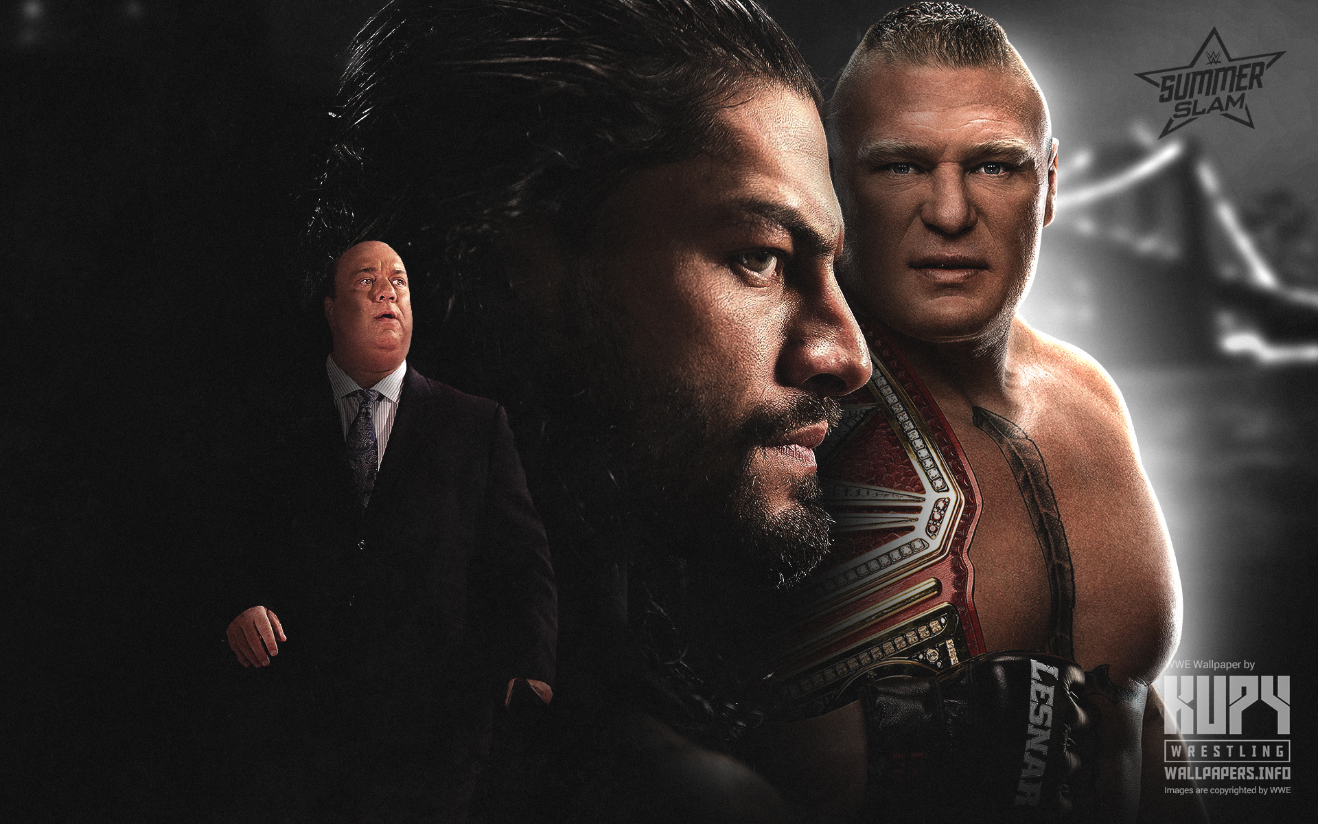 kupy wrestling wallpapers the latest source for your wwe wrestling wallpaper needs mobile hd and 4k resolutions available blog archive 2018 summerslam finale roman reigns vs brock lesnar wallpaper roman reigns vs brock lesnar wallpaper