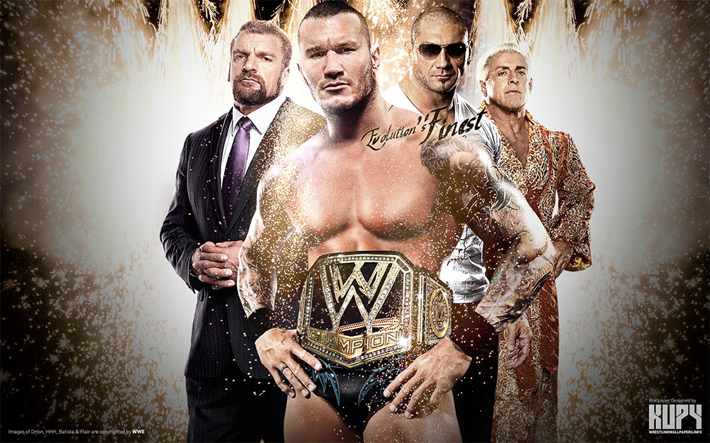 Randy Orton wrestling wallpaper